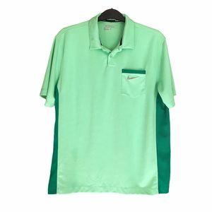 Nike Golf Dri Fit Polo Shirt Tour Performance L